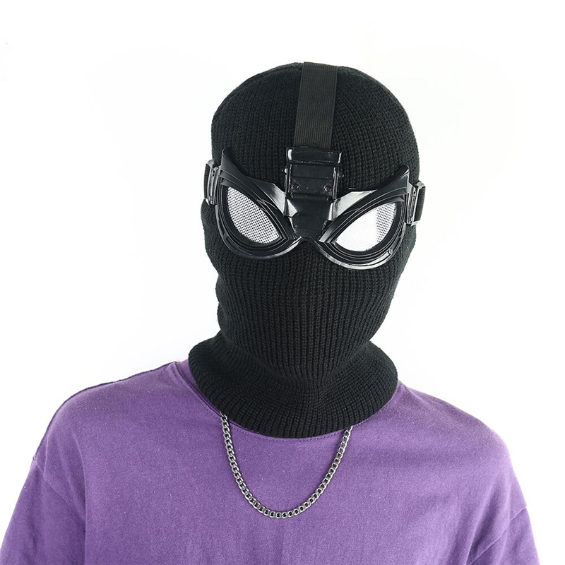 Spiderman Far From Home Stealth Suit Superhero Spiderman Cosplay Accessories Full Head Mask Props Helmet For Halloween Party in Boys Costume Accessories from Novelty Special Use