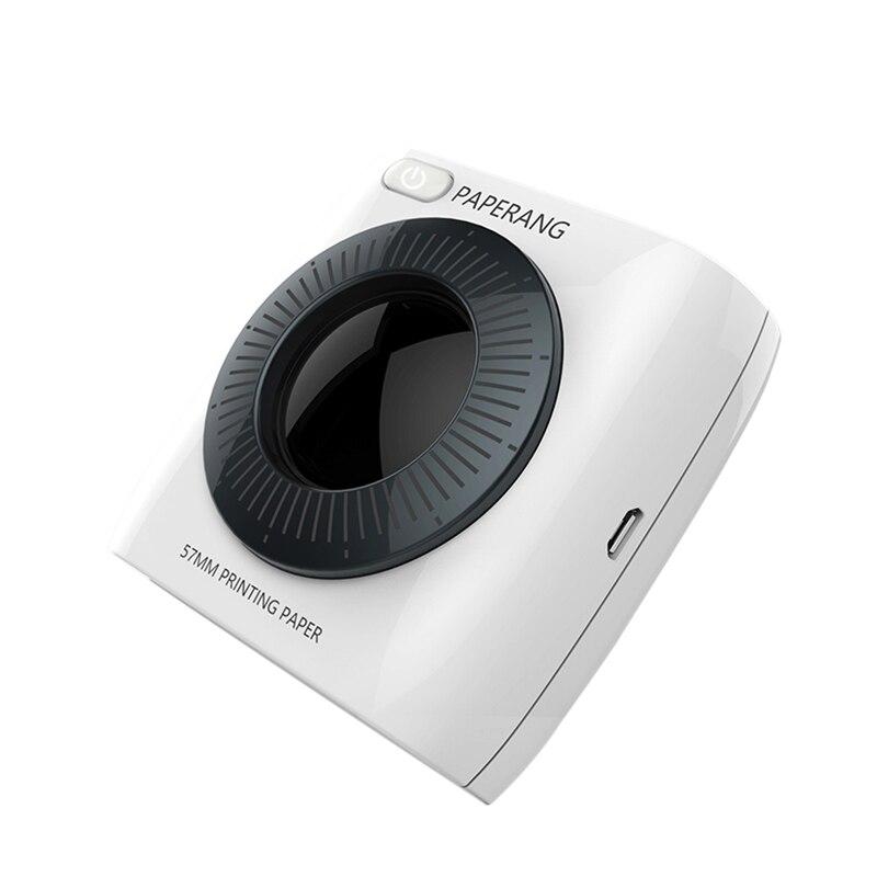 PAPERANG P2 Bluetooth 4,0 портативный термальный фото телефон беспроводное соединение мини принтер - 3