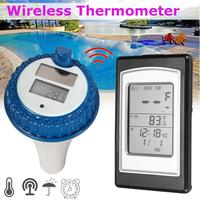 Professional Wireless Digital Swimming Pool Thermometer Wireless Thermometer In Swimming Pool Spa Hot Tub Waterproof Thermometer