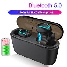 Bluetooth 5,0 наушники СПЦ стерео Беспроводной наушники IPX5 Водонепроницаемый Blutooth громкой связи Наушники спортивные наушники игровая гарнитура