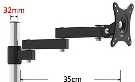 NBGYS Extension Arm A201 For Monitor Holder TV Mount in TV Mount from Consumer Electronics