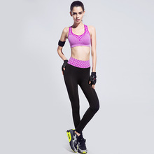 Yoga Tight Sports Pants and Bra Suits Female Fitness Jogging High Waist Yoga Sets Gym Running Sportwear Suit China Shop Online