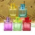 5 unids/lote 30 ml spray botellas de Cristal Del color Del Caramelo Portátil Viajes perfume atomizador recargable vacío de maquillaje envase cosmético