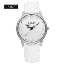 2017 GAIETY New Brand Women Fashion Casual Watches Women Bracelet Watch Pearl Leather Quartz Wristwatch Women Dress Watch G398