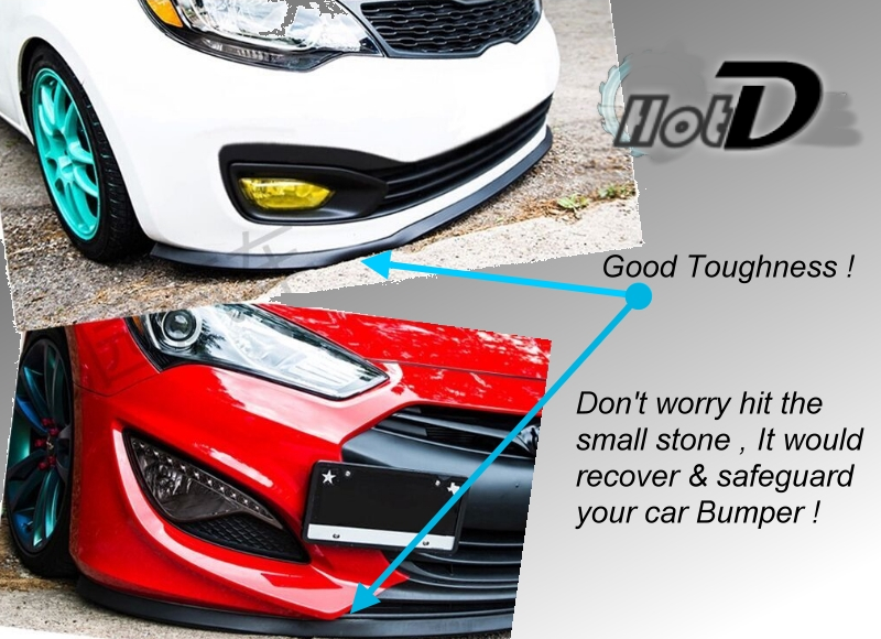 NOVOVISU Bumper Lip Lips For Chevrolet Lova / Top Gear Shop Spoiler For Car Tuning / Body Kit + Strip