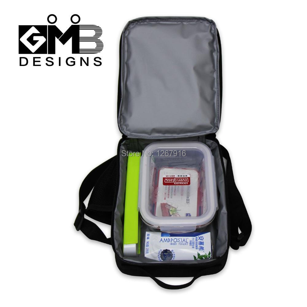Boys Lunch Bag For School Personalized Insulated Container S Square Thermal Crossbody Box Picnic In Bags From Luggage