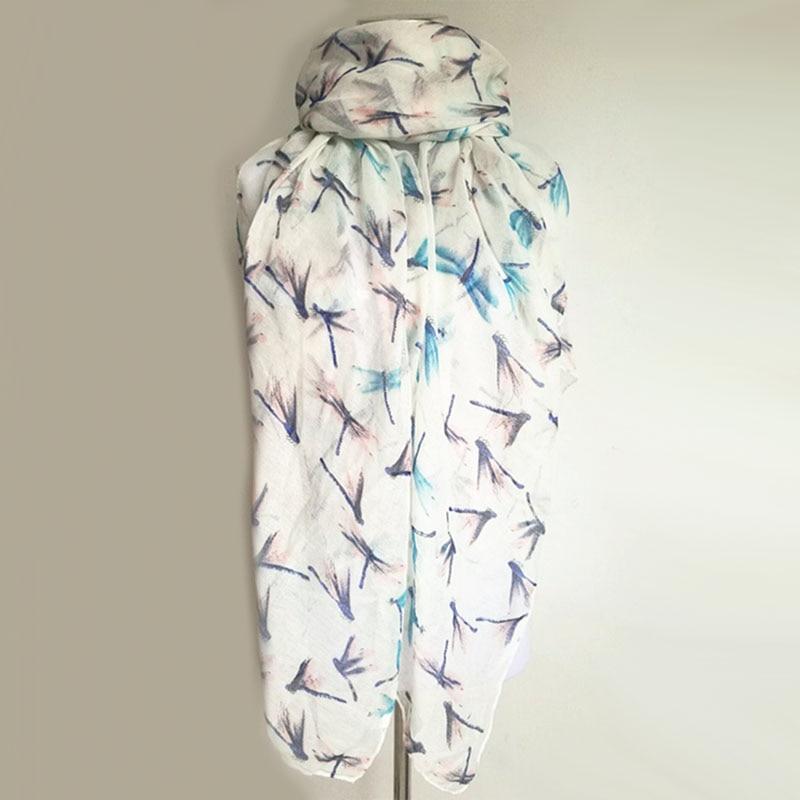 Nouveauté mode imprimé animal écharpe libellule dames foulards - Accessoires pour vêtements - Photo 2