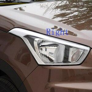 Image 4 - Paralume della lampada Del Faro della copertura della lampada Lente caso di protezione Del Faro di vetro di copertura per Hyundai IX25 2015 2017 Faro trasparente