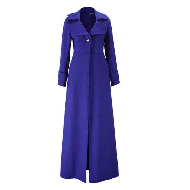 buy online f363e aaff4 US $98.02 |Frauen Wollmantel Damen Wollmantel Mode Hohe Qualität Mantel  Ourwear rot schwarz blau grün 3 farben optional Mantel in Frauen Wollmantel  ...