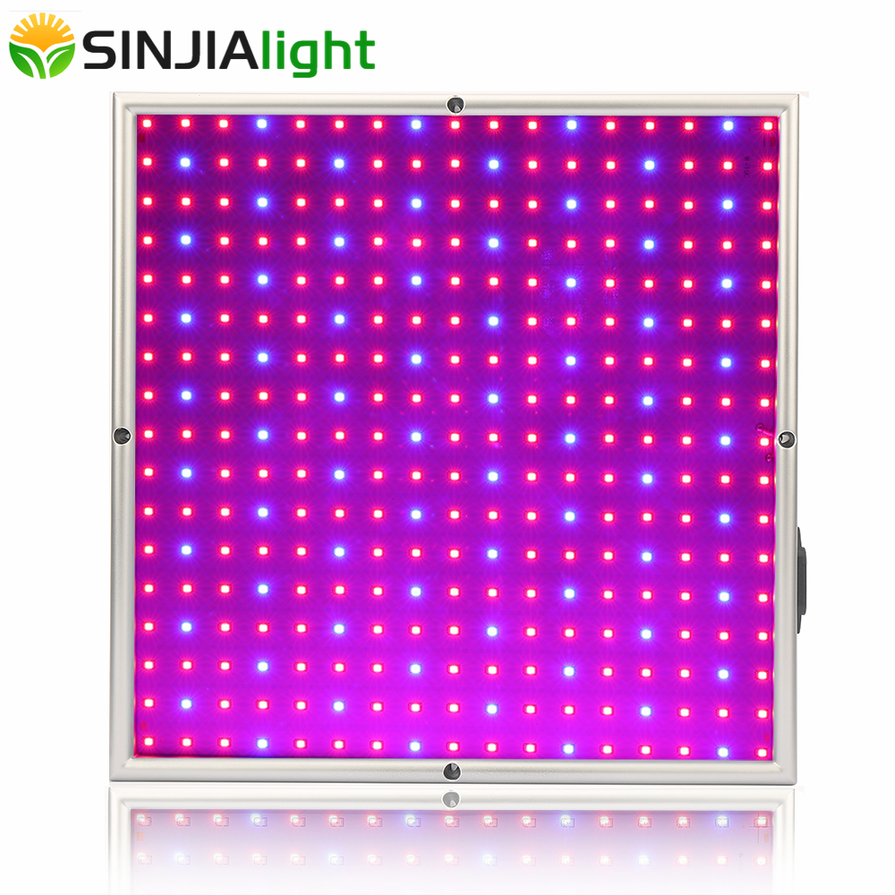20W LED Plant Growth Lamp Grow Panel Light Red+Blue 289LEDs for Plants Hydroponics Flowers Garden Aquarium Grow Tent Greenhouse the red tent