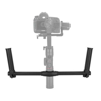 Dual Handheld Extended Pole for Zhiyun Crane 2 Gimbal Stabilizer