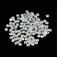 100Gross SS20 4 6 4 8mm AB Color Crystal DMC Flatback Hot Fix Rhinestone Glass Strass