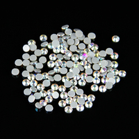 100 brut SS20 ( 4.6 - 4.8 mm ) AB couleur cristal DMC Flatback Hot Fix Strass verre Strass Hotfix Strass