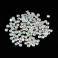 100Gross SS20 (4.6 4.8mm ) AB Color Crystal DMC Flatback Hot Fix Rhinestone Glass Strass Hotfix Rhinestones