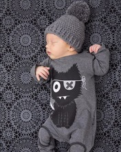 New Arrival 2016 Fashionable Unisex Baby Clothes Long Sleeve Baby font b Rompers b font Newborn
