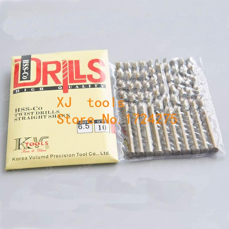 M35 10pcs 1.0mm-8.5mm HSS Hemp Flowers Cobalt Drill Special Stainless Steel Drill Bits (1mm/2mm/3mm/4mm/5mm/6mm/7mm/8mm)