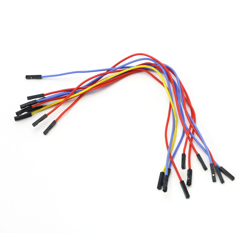 10pcs/lot OSD GPS Flight Control Image Transmission Cable / Soft Silicone Wire Single 2.54 Dupont Line Length 22 Cm