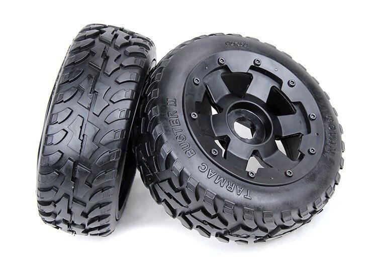 1/5 rc pièces de voiture, Baja 5B onroad avant roues et pneus x 2 pcs, livraison gratuite