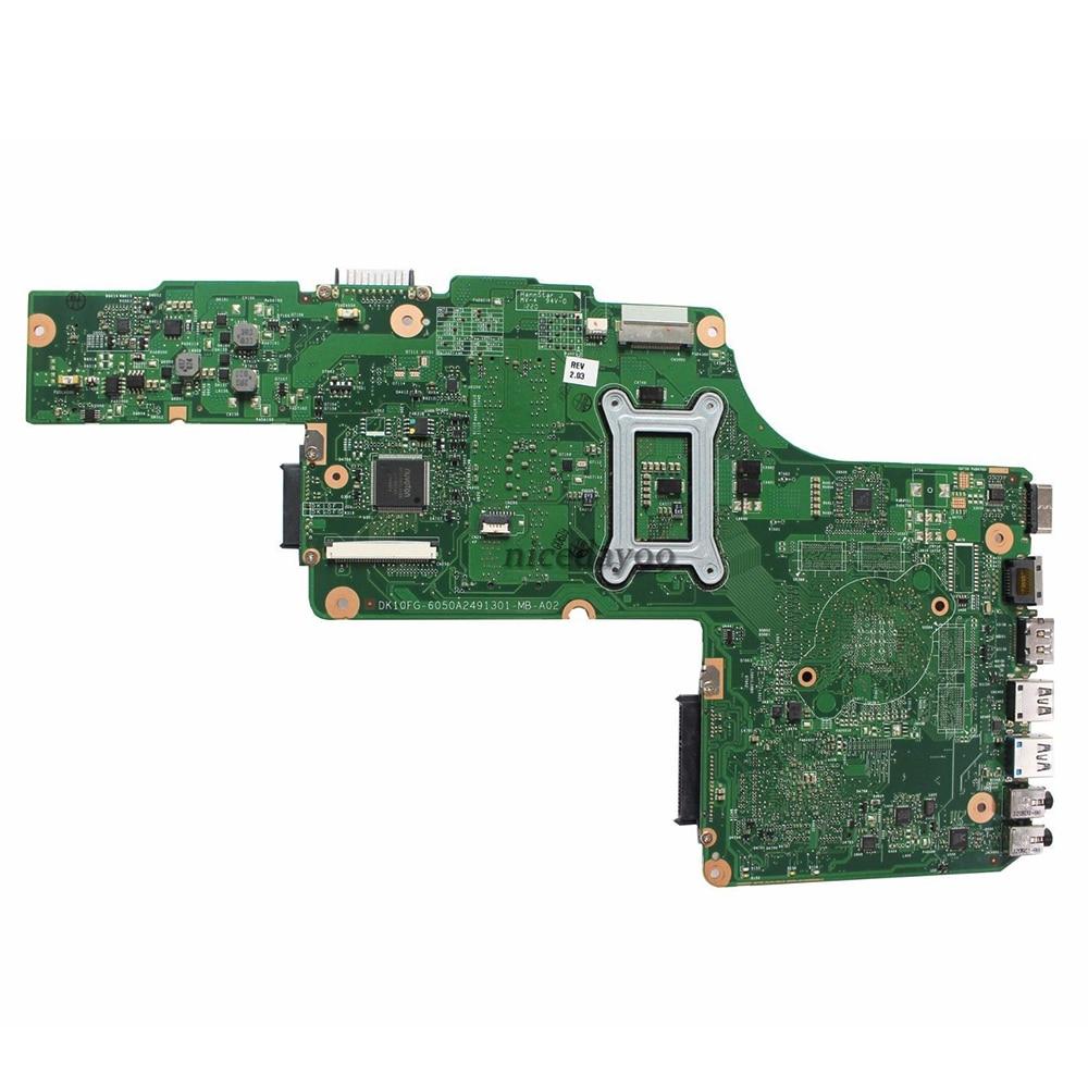 V000275070 東芝衛星 C850 C855 マザーボード 6050A2491301 MB A02 V000275070 HM76 USB3.0 メインボード 100% テスト  グループ上の パソコン & オフィス からの マザーボード の中 2