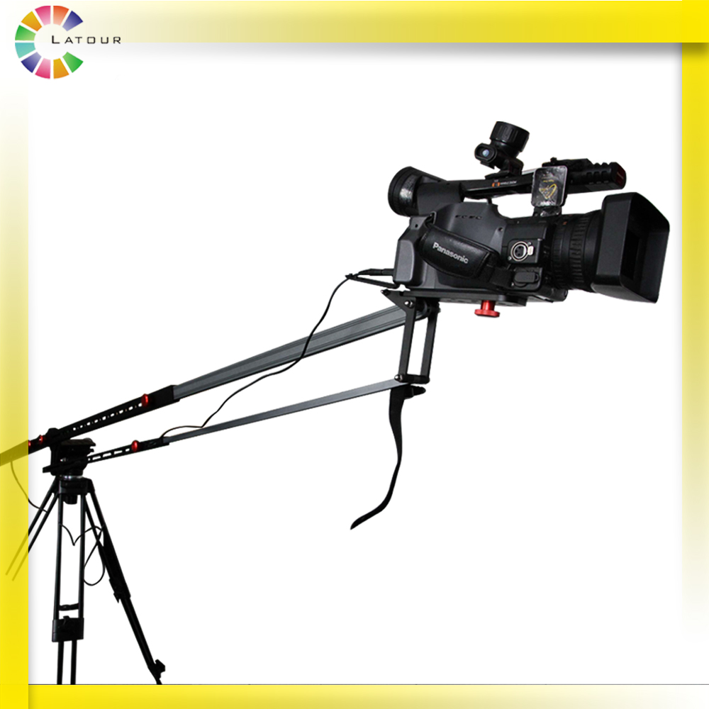 K195 Professional jib extendable photographic mini crane portable camera video DSLR jib arm ashanks photography mini jib crane carbon fiber portable pro dslr video camera jib arm crane standard version bag free shipping