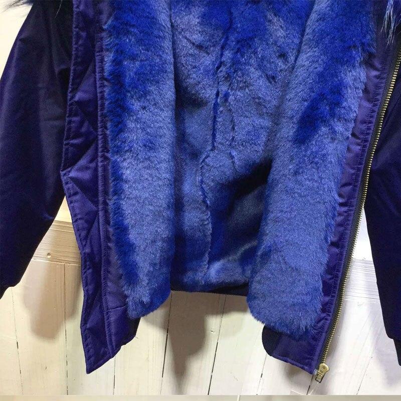 Pour Fourrure Top Et Marine Expédition Arrivée Jzayv Streetwear baby Vente Hiver Filles Adult Veste Doublé Femmes Blouson Nouvelle Dhl qS0vwp
