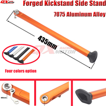 цены CNC Alloy Forged Kickstand Side Stand For KTM XC XCF XCW EXC EXCW EXCF XCR HUSQVARANA 200 250 300 350 400 450 500 530