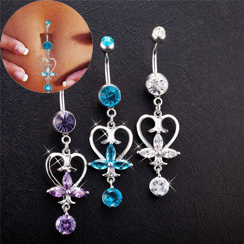 Noble Heart Dangle Piercing...