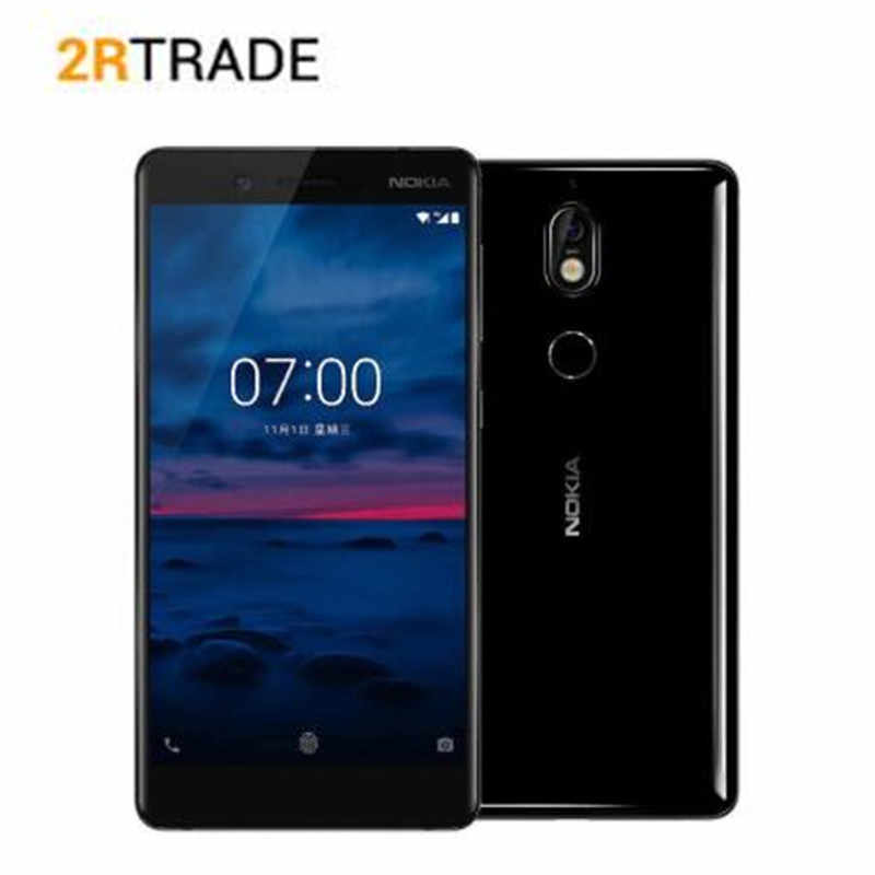 "Nokia 7 4G 64G 5.2 ""IPS 16:9 ratio écran Snapdragon 630 octa-core 2.2 GHz double 16mp Android 7.1 téléphone NFC"