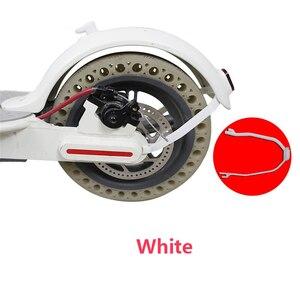 Image 2 - Заднее крыло держатель поддержки для Xiaomi Mijia M365 электрический самокат защита задний свет кабель сменный кронштейн запчасти