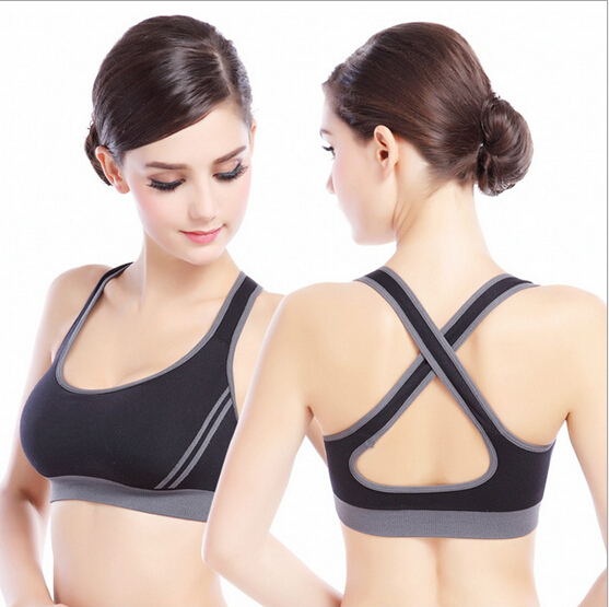 462ac6c5a8c98 New Sport Bra Women Athletic Sports Bras Cros US  5.49. New Arrived Plus  Size ...
