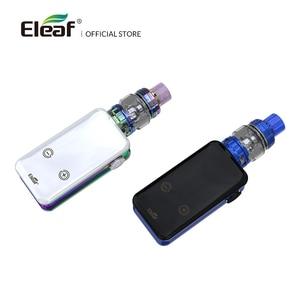 Image 2 - מקורי Eleaf iStick NOWOS עם ELLO Duro ערכת 2ML/6.5ML עם 4400mAh סוללה HW M/HW N כפול ראש טעינה מהירה יותר דואר סיגריה