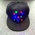 DIODO EMISSOR de luz Benn boné de beisebol Hop chapéu boné de beisebol do chapéu amantes Da Moda personalidade Fase Brilho