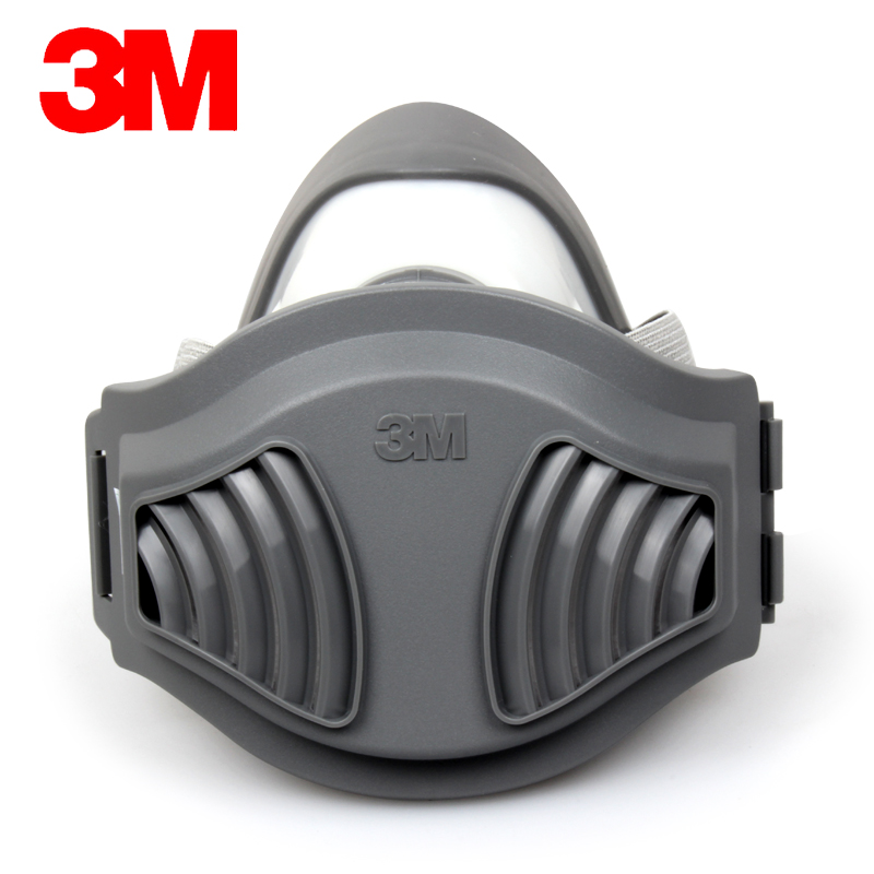 3M 1211 Reusable Half Face Mask 3 in 1 Suit Particles Protective Mask Respirator KN90 Filter +10 Filter VEN003 11 in 1 suit 3m 6200 half face mask with 2091 industry paint spray work respirator mask anti dust respirator fliters