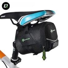 Rockbros Mountain Road Bike Bag Black Anti scratch Bicycle Saddle Cycling Rear Seat Tail Bag Bicycle