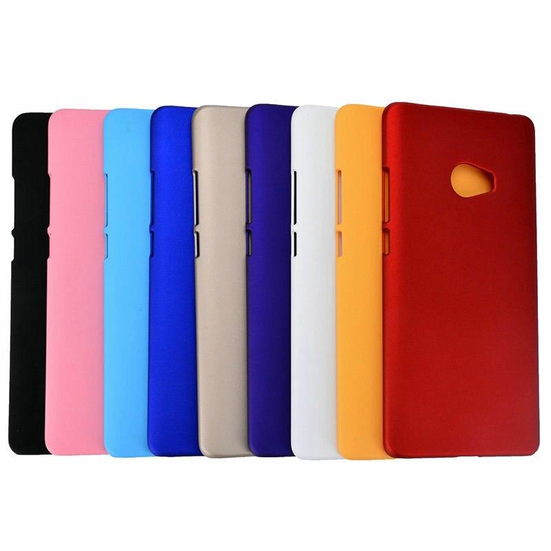 Colorful Matte Rubber Hard Back Cover Case For Xiaomi Note 2 font b Mi b font
