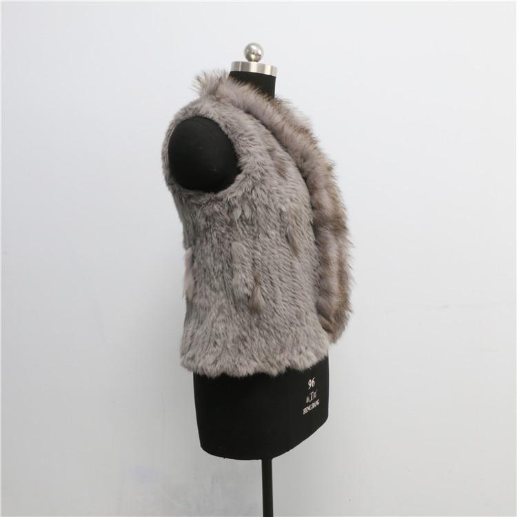 Style Prix Nouveau Gilet En Fourrure Gros Lapin De Mode Rex fPPwvqg