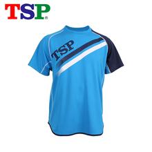 Oryginalna TSP nowe koszulki do tenisa stołowego koszulki męskie damskie ping pong tkanina Krótki rękaw Sportswear szkolenia koszulki tanie tanio Unisex Pasuje do rozmiaru Weź swój normalny rozmiar 83502 Short Sleeved Suit SMLXlXxlXxxl Mężczyzna Dark Blue (100) Blue (120) Black (020)