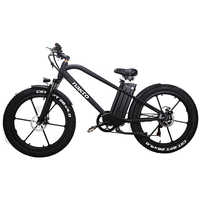 26inch Fat e-bike 48V500W electric mountain bicycle hybrid pas  off-road snow bike 4.0 fat tires EMTB smart lcd ebike