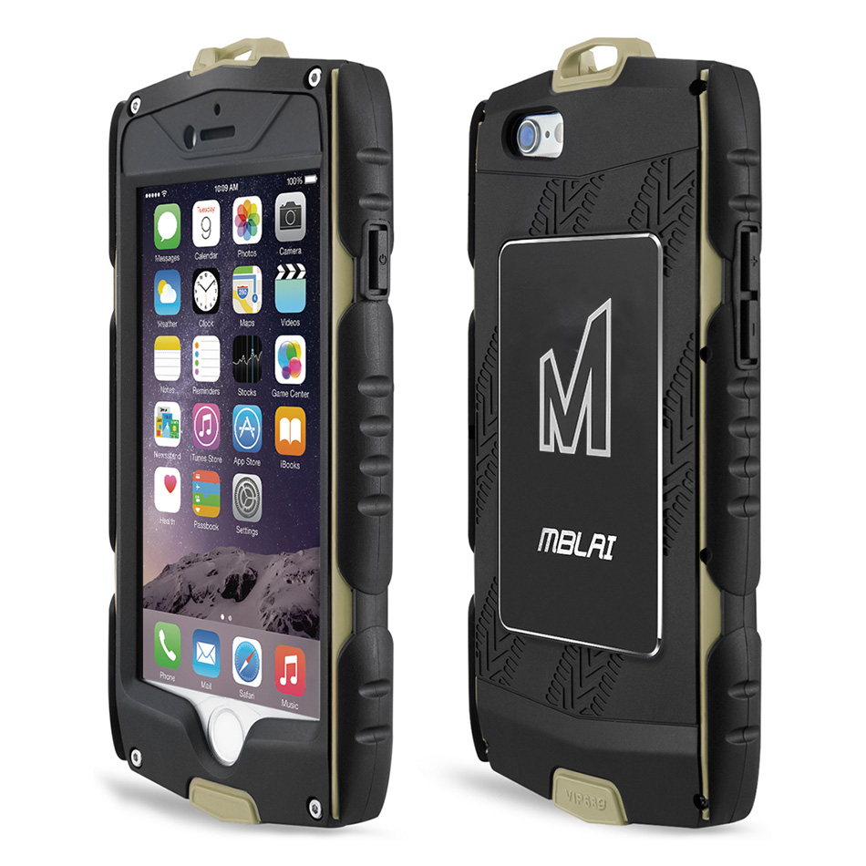 MBLAI Heavy Duty Armour Case for iPhone 6s Plus Shockproof