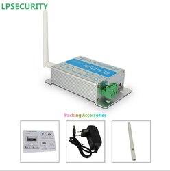 LPSECURITY nowy telefon tekst SMS SIM pilot GSM kontroler/GSM przekaźnik czterozakresowy inteligentny przełącznik wyjścia