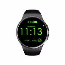 KW18 Bluetooth Smart Watch SmartWatch MT2502 Chipset 1.3″ Round IPS Display Heart Rate Monitor for iOS and Android Wristwatch