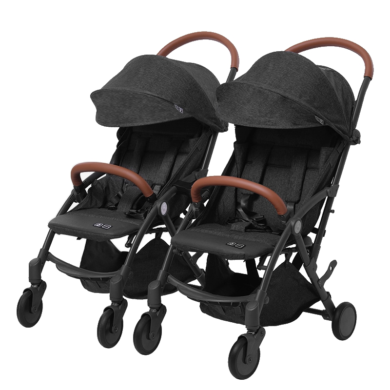 European luxury twin baby stroller can sit and detachable double stroller lightweight folding second stroller artifact European luxury twin baby stroller can sit and detachable double stroller lightweight folding second stroller artifact