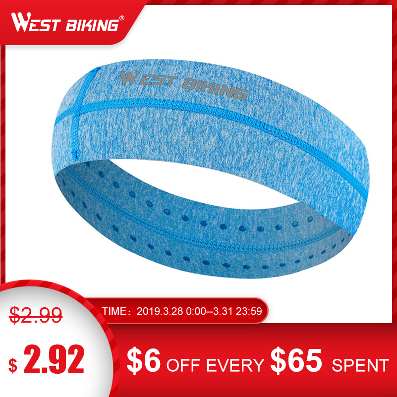 WEST BIKING Cycling   Headwear   Stretchy Sweatbands Sports Breathable Antiperspirant bands Unisex Tennis Running Cycling Headbands