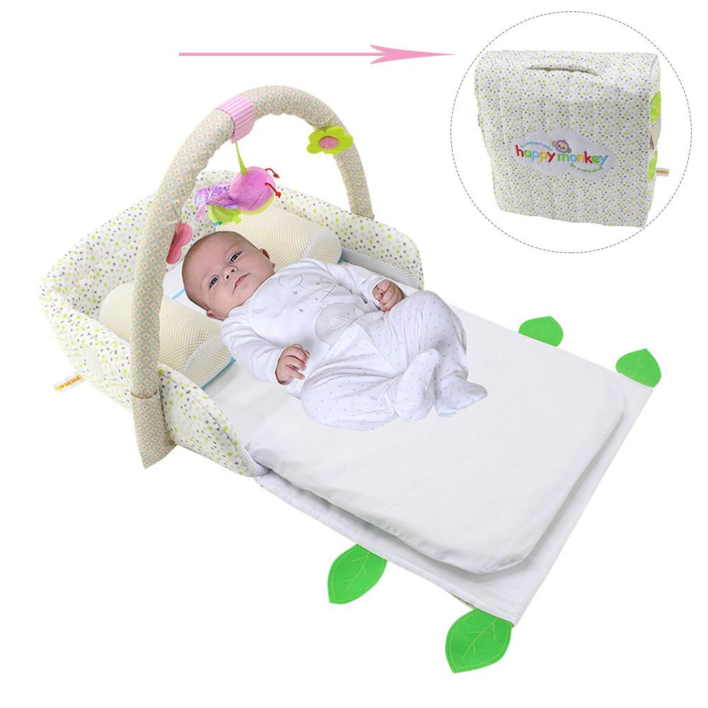Multifunctional Crib Portable Folding Bed In The Bed Newborn Baby Game Bed For Under Six Month бондаж hold me under the bed restraint system