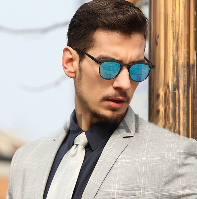 Bruno Dunn 2020 Sonnenbrille Männer Polarisierte UV400 hohe qualität spiegel Sonne Gläser für fahren männlich Oculos de sol masculino designer