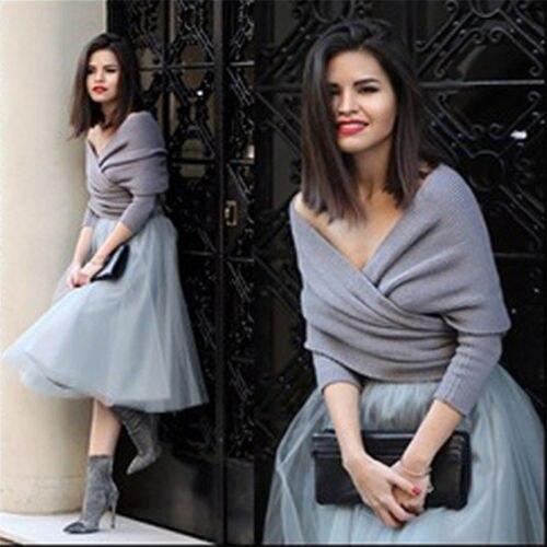 Autumn Women Long Sleeve Loose Knitted Wrap Knitwear Scarf Arrival Sweaters Tops For Women Pullover Jumper Pull Femme Truien