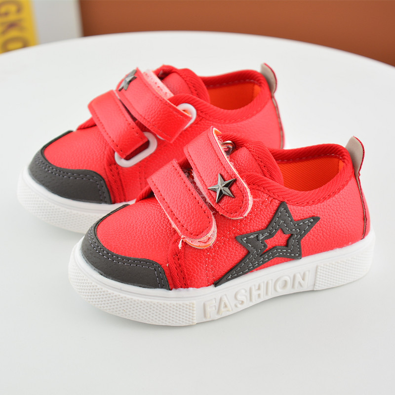 16 New Small Children Canvas Shoes For Kids Baby Boys Canvas Star Shoes Girls Flat Sneakers Low Casual School Students Shoes 8