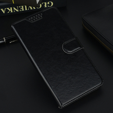 Flip Wallet Leather Phone Case Cover for TP-Link Neffos C5A TP703A Black Holster Protective Cases for TP-Link Neffos C5A