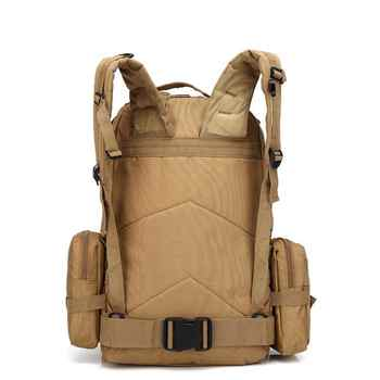 55l Men Military Backpack Molle Tactical Camouflage Outdoor Bags Sport Climbing Hiking Camping Sport Bag 11 Colors