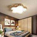 Современные корейские красочные геометрические шестигранные железные светодиодные потолочные светильники современные гостиной столовой...
